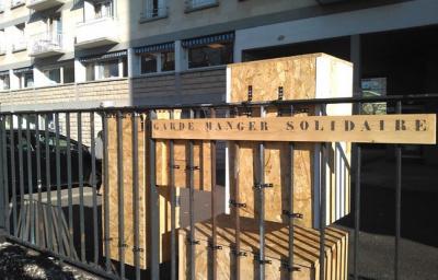 Un garde-manger gratuit rue de Charenton !