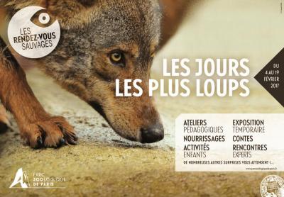 Les jours les plus loups au Parc zoologique de Paris