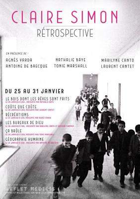 Rétrospective Claire Simon au Reflet Médicis