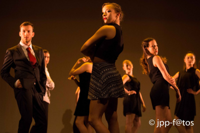 Scène ouverte à la danse à l'Auditorium Saint-Germain