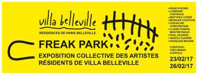 Freak Park, l'expo gratuite de la Villa Belleville