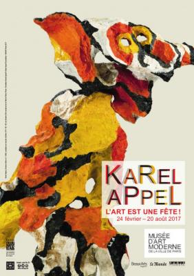 Karel Appel, la très belle exposition au MAMVP