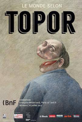Le monde selon Topor, la belle expo de la BNF