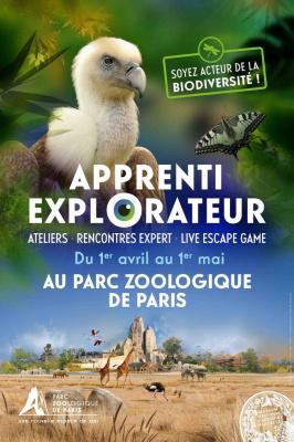 Apprenti explorateur : la biodiversité s'explore au Parc Zoologique de Paris