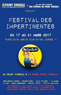 Les Impertinentes au Point Virgule et au Grand Point Virgule 2017