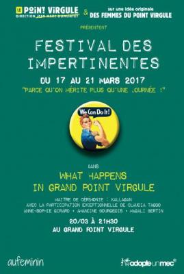 What happens in Grand Point Virgule, la soirée pour comprendre les femmes