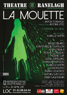 La Mouette au théâtre Le Ranelagh