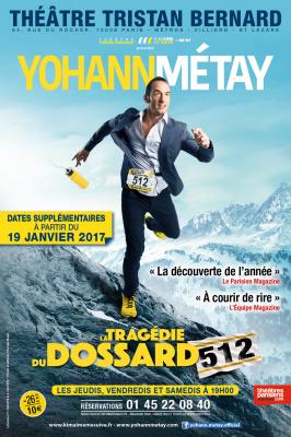 Yohann Metay dans Le dossard 512 au théâtre Tristan Bernard : notre critique