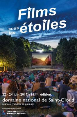 Films sous les étoiles à Saint-Cloud, festival de cinéma en plein air 2017