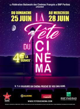 La Fête du Cinéma revient en juin 2017