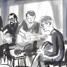 Sieste acoustique autour d'Henri Michaux à la Maison de la Poésie