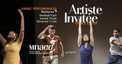 Danse : Cécile Loyer au musée Guimet