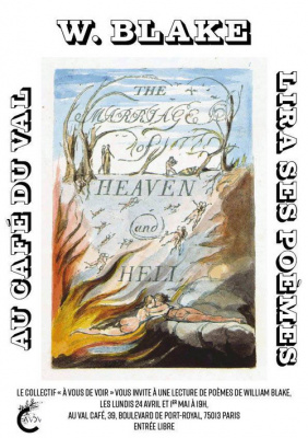 Lecture de William Blake et couscous offert au Val Café