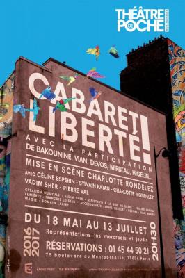 Cabaret Liberté au théâtre de Poche-Montparnasse