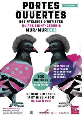 Portes ouvertes des ateliers d'artistes du Pré Saint-Gervais 2017