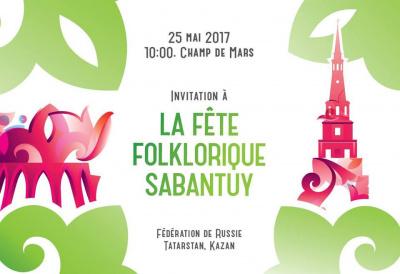 Sabantuy, la grande fête tatare, s'installe au Champs de Mars