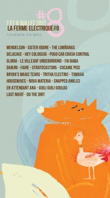 La Ferme électrique, festival de musique en Seine-et-Marne