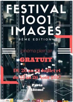 Ciné gratuit en plein air 1001 images dans le 18ème arrondissement !