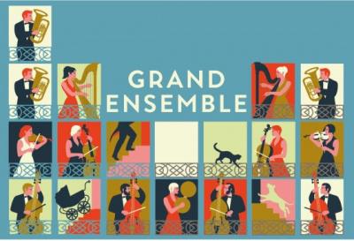 Grand Ensemble, le concert gratuit en plein air sur la place d'Aligre