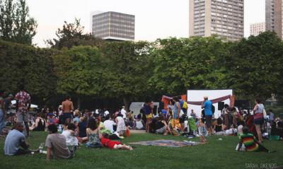 Cinewax Outdoors au parc de Choisy : ateliers, food et cinéma
