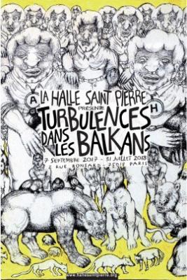 Turbulences dans les Balkans, l'exposition de la Halle Saint-Pierre