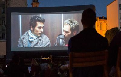 La Chaise et l'Ecran 2017, le cinéma en plein air gratuit du 11e arrondissement