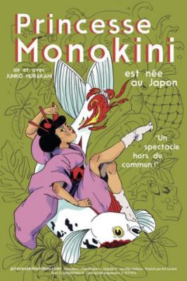 Princesse Monokini, le one-woman-show japonais au Centre Mandapa