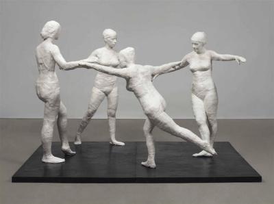 George Segal, l'exposition à la galerie Templon