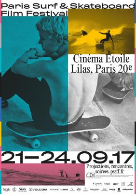 PSSFF : Paris Surf & Skateboard Film Festival au cinéma Étoile Lilas