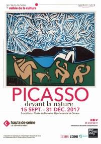 Picasso devant la nature, l'exposition au Domaine départemental de Sceaux
