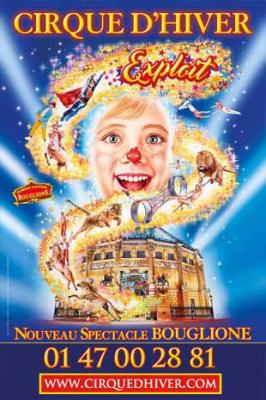 Exploit, le nouveau spectacle du Cirque Bouglione au Cirque d'Hiver