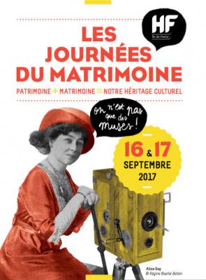 Les Journées du Matrimoine en 2017 à Paris