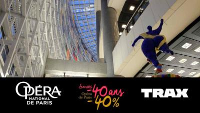 Soirée -40 ans à l'Opéra de Paris avec Trax Magazine
