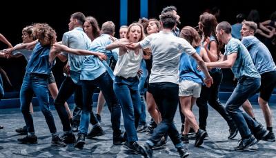Nuit Blanche : Olivier Dubois à la Canopée des Halles