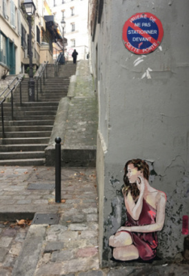 Street art : Jana & JS investissent Montmartre !