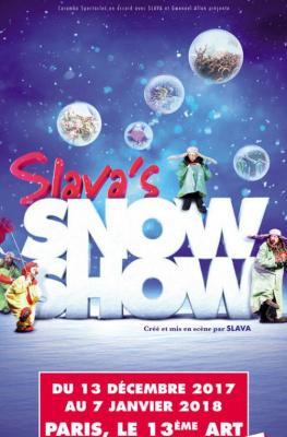 Slava's Snowshow sur la scène du 13ème Art