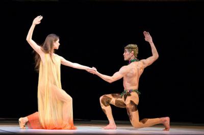 Nijinsky par le Ballet National du Canada au théâtre des Champs-Élysées