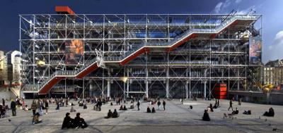 FIAC 2017 : Domestikator, une oeuvre éphémère devant le Centre Pompidou