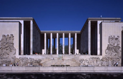 Le musée d'Art moderne (MAMVP) en travaux en 2018-2019
