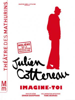 Julien Cottereau dans Imagine-toi au théâtre des Mathurins