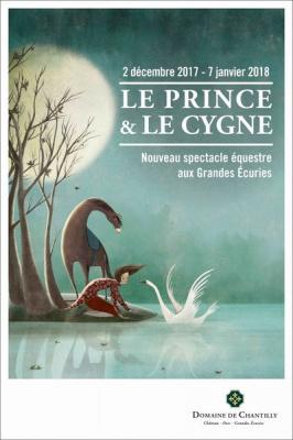 Le Prince et Le Cygne, spectacle de Noël des Écuries de Chantilly