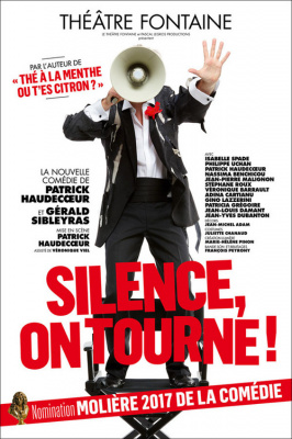 Silence, on tourne ! au théâtre Fontaine : notre critique