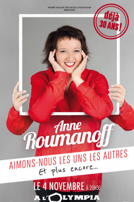 Anne Roumanoff s'invite à l'Olympia pour une date exceptionnelle !