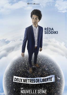 Reda Seddiki dans Deux mètres de liberté à La Nouvelle Seine