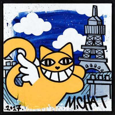 M. Chat, l'exposition à l'hôtel Jules & Jim