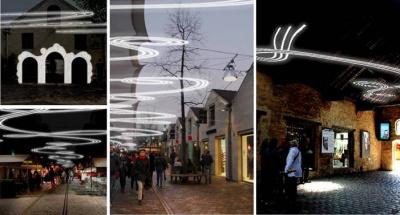 Jordane Saget expose à Bercy Village pour Noël