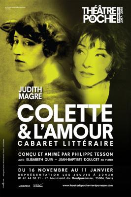 Colette & l'amour, reprise au théâtre de Poche-Montparnasse
