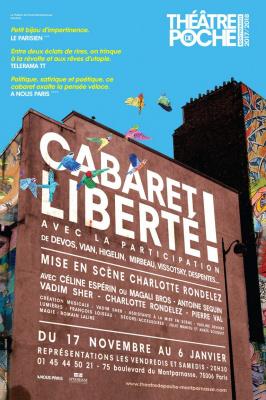 Cabaret Liberté !, reprise au théâtre de Poche-Montparnasse