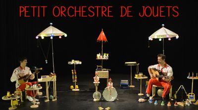 Petit orchestre de jouets au théâtre des Sablons (Neuilly-sur-Seine)