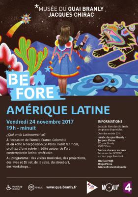 Before Amérique Latine, la soirée gratuite au musée du Quai Branly